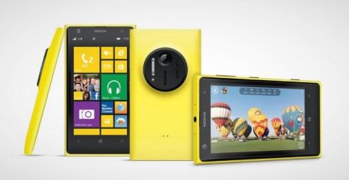 Nokia Lumia 1020 Yellow