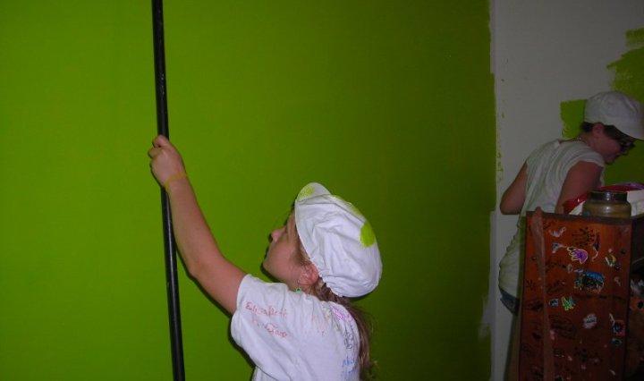 pre-teen painting