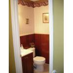 Powder Room With Wallpaper Removal