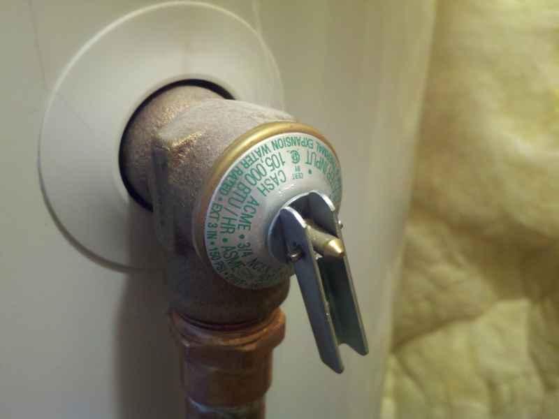 Leaky T&P Tempature and Pressure valve