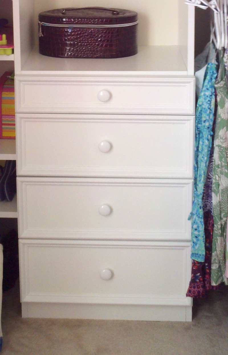 Should You Build Your Own Custom Closet Drawers?