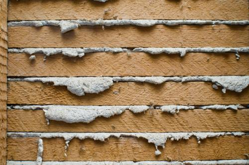 Plaster and Lath wall