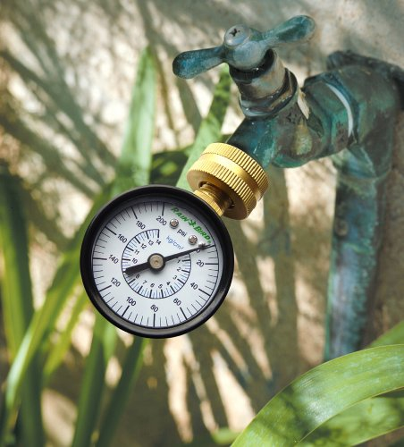 House Water Pressure Gauge