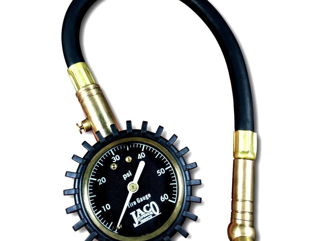 Jaco Elite Pro Tire Gauge is easy and convenient to use.