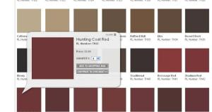 Ralph Metallic Paint Color Chart The Future