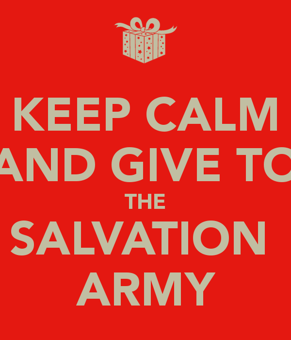 Ways to Give - The Salvation Army