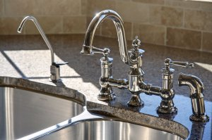 Replace kitchen faucet