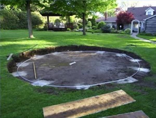 Put Can I Ground Inground Pools Above