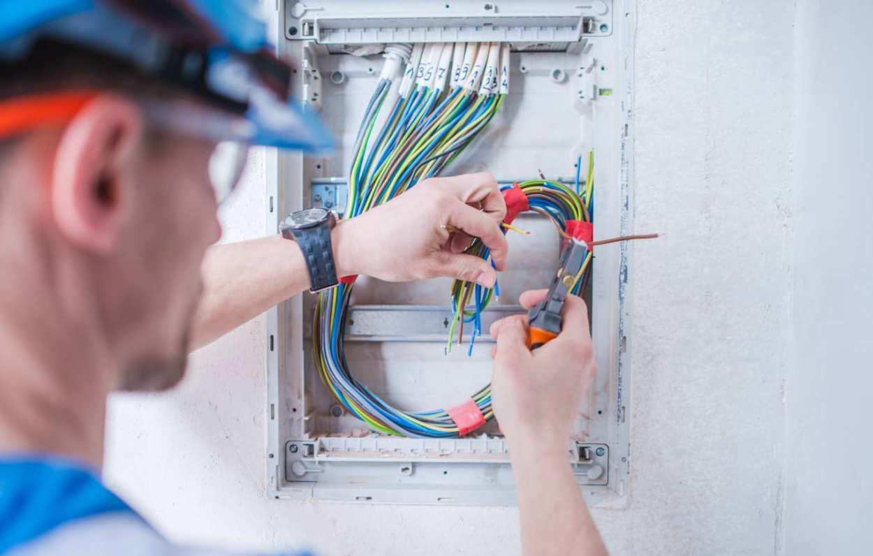 Electrical Handyman at work