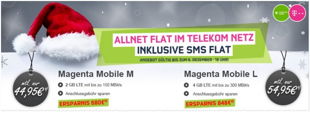 Magenta Mobil L md bei Modeo