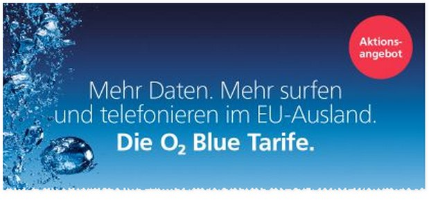 o2 Blue All-in Tarif ab 2. Mai 2016 mit 1GB LTE Datenvolumen extra + EU-Roaming-Flat