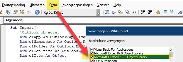 Excel VBA - Verwijzingen (References)
