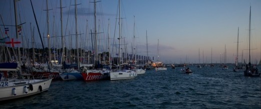 0445 - sailing out of Cowes