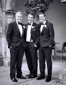 Groom and Best Men