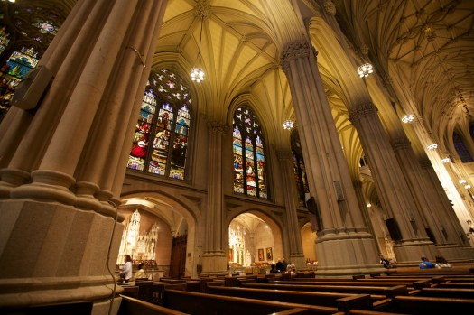 St Patrick's Cathedral - before