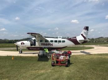 Cessna 208 Caravan to San Pedro