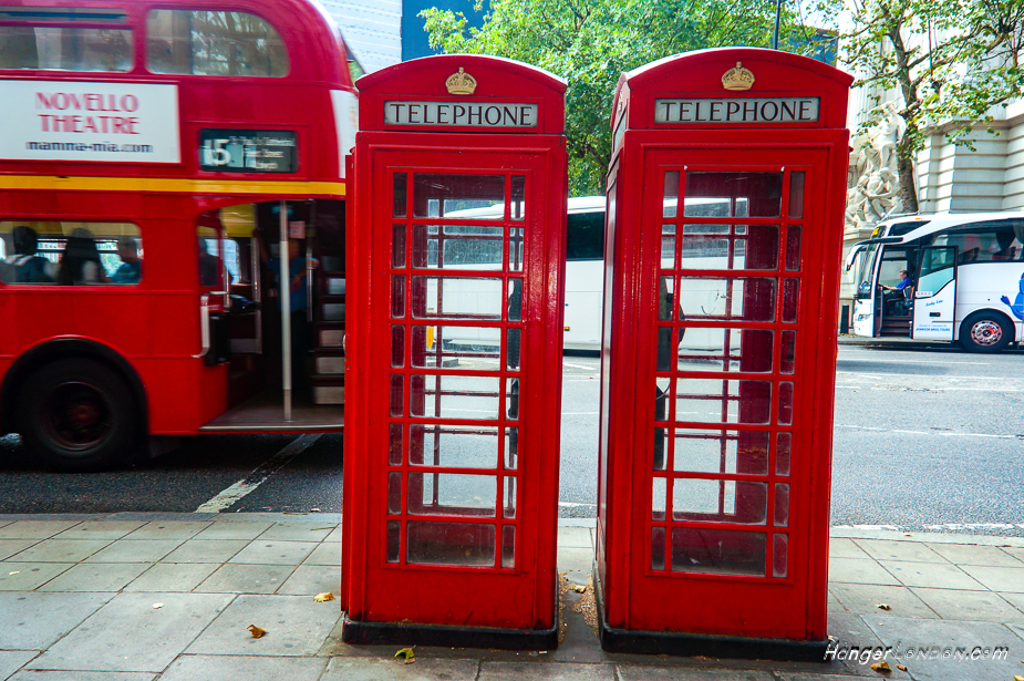 K6 Red telephone box London
