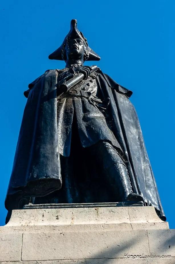 James Wolfe Statue Greenwich