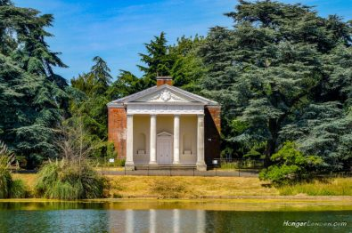Palladian style garden temple Gunnersbury Park