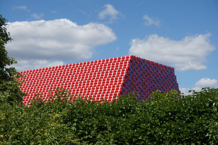 London Mastaba on the Serpentine