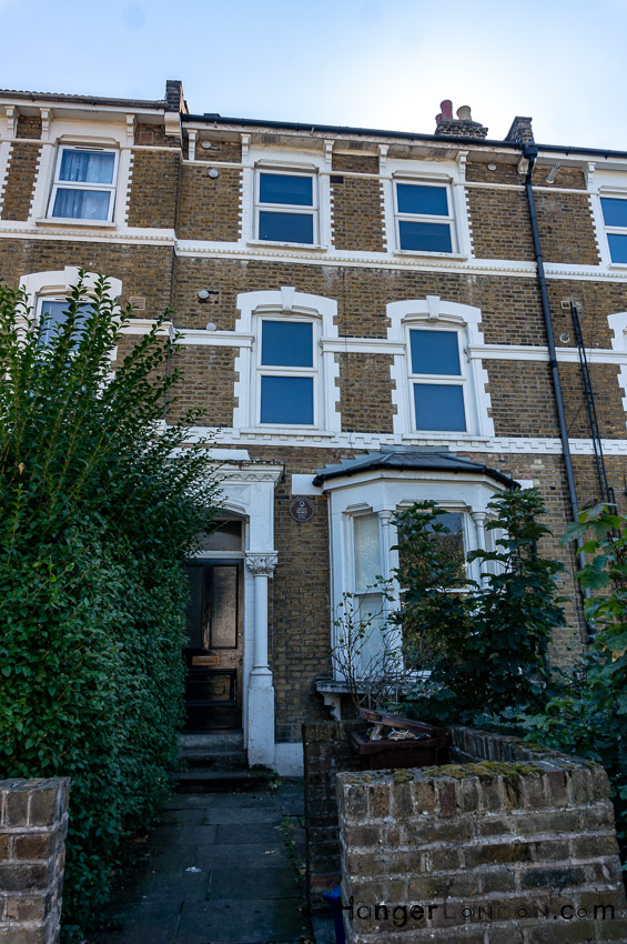The House Marc Bolan (Feld) grew up in Stoke Newington Common Hackney London