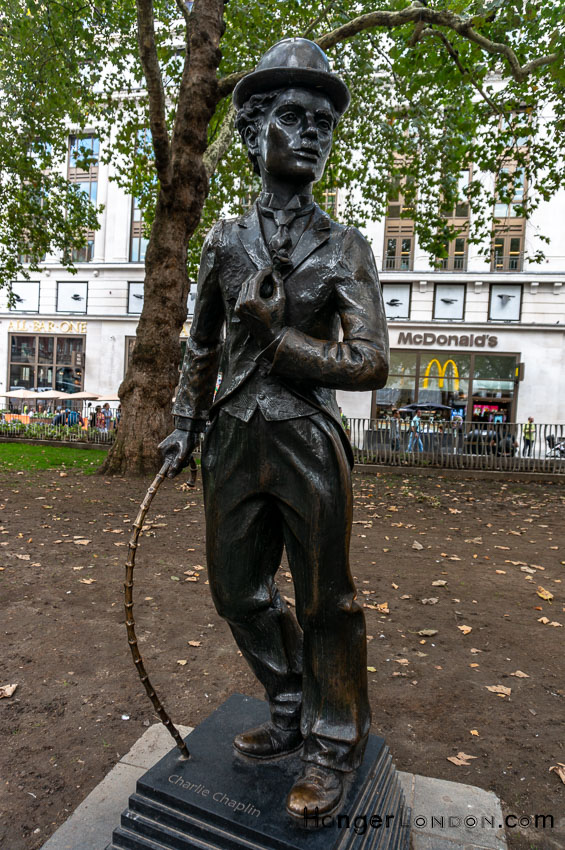 Charlie Chaplin Statue Leicester Square