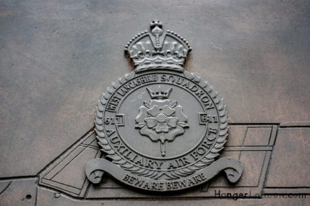 All Bronze RAF Squadron Badges 11