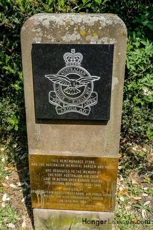 Australia Remembrance Battersea Park