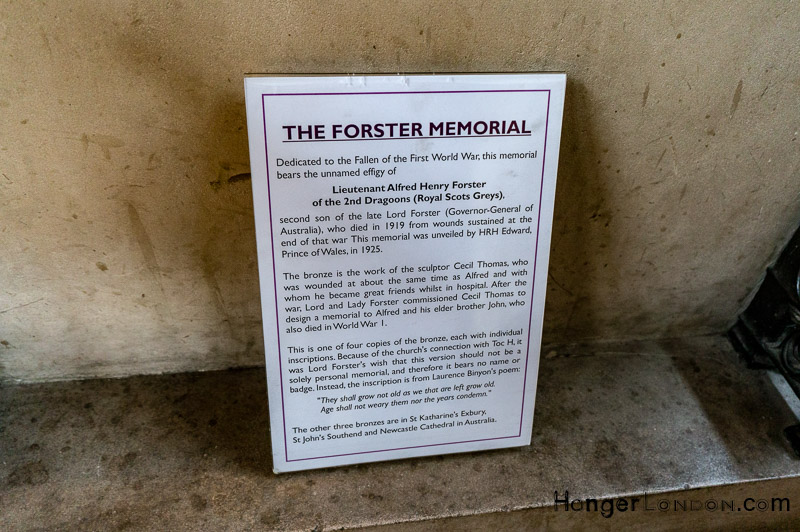 Forster Memorial