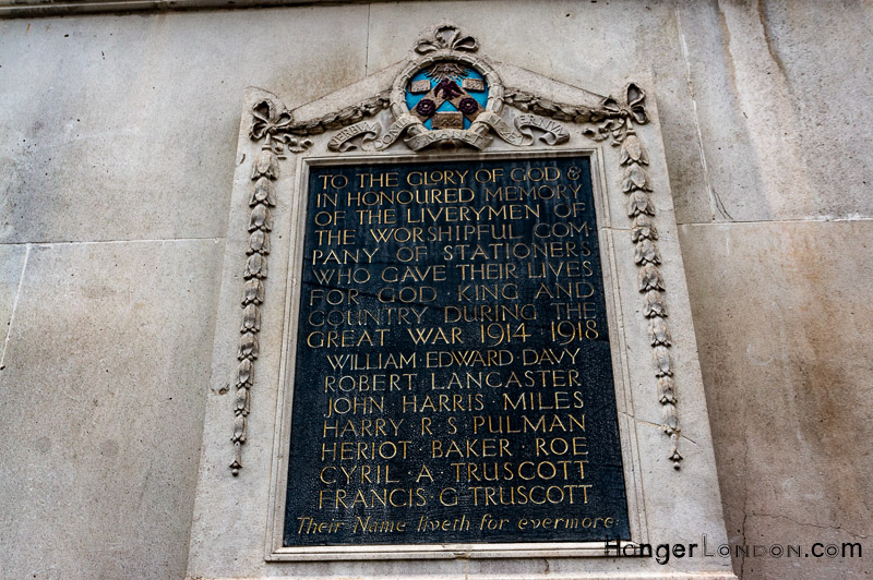 Livery Company Remembrance