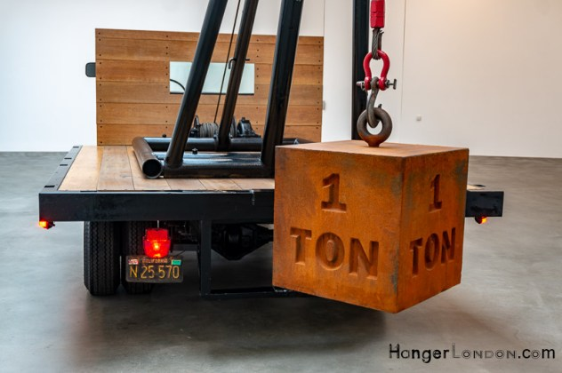 Chris Burden American Pickup Truck at the Gagosian 6