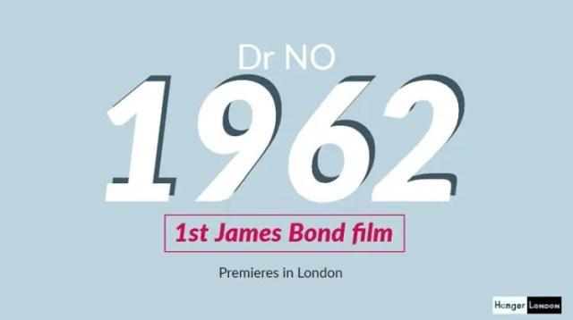 DR NO 1st James Bond
