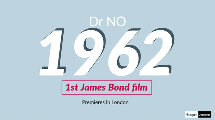 DR NO 1st James Bond