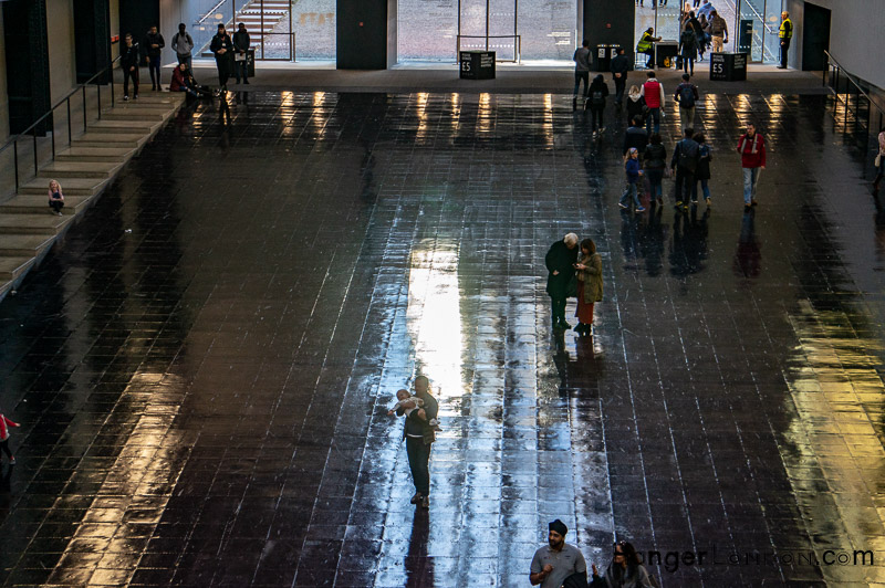 Tate Modern Turbine Hall Heat sensitive floor Artist Tania Bruguera