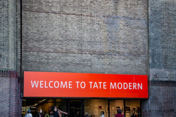 Welcome to the Tate Modern Gallery