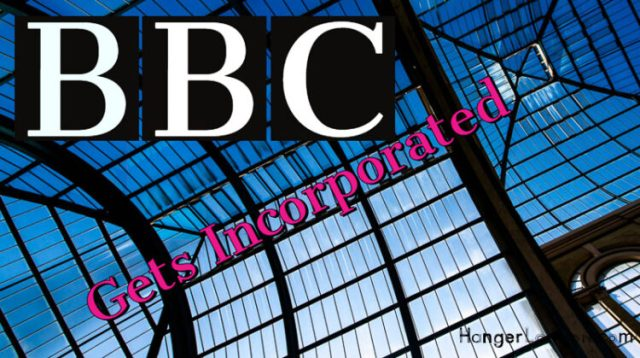 BBC gets incorporated