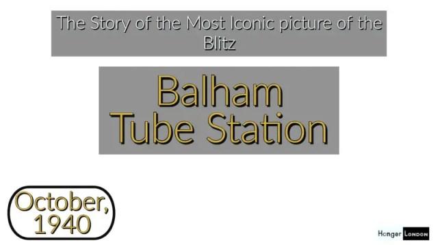 Balham during the Blitz