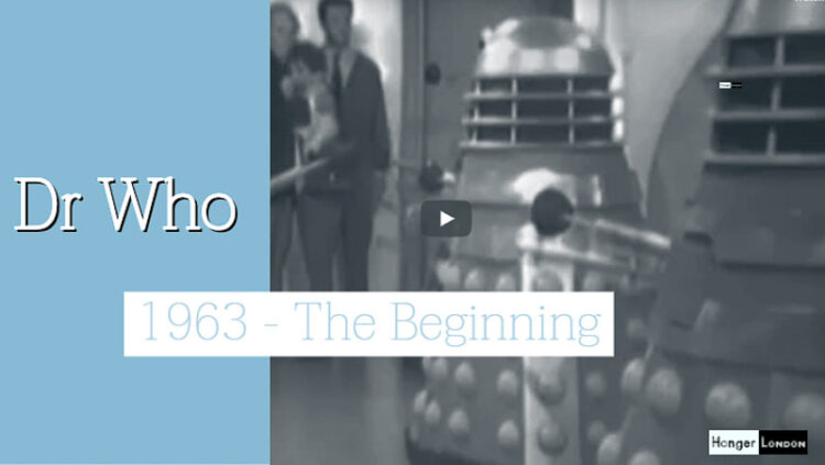 1963 the start of DR WHO