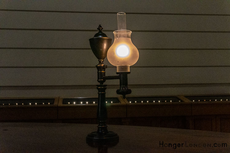 Bank of England historic style counter lamps