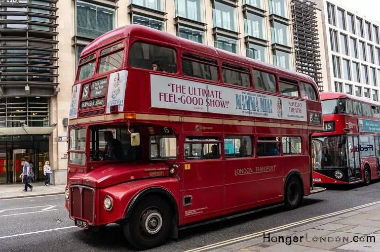Mama Mia Traditional Route Master Bus 15