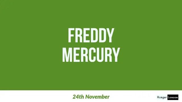 Freddy Mercury, end of an era