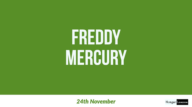 Freddy Mercury, end of an era