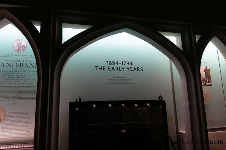 The Eearly Years Section Bank of England Museum