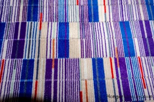 Upholstery of seats Elizabethan Line