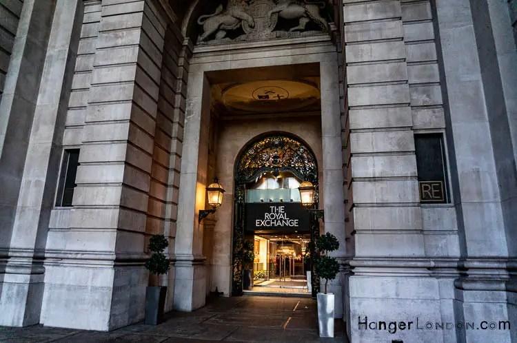 Entrance Exit Royal Exchange