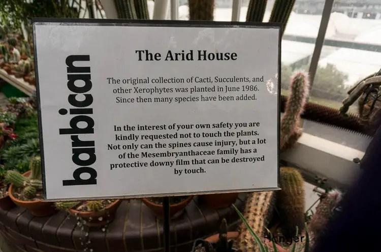 Info on the arid House