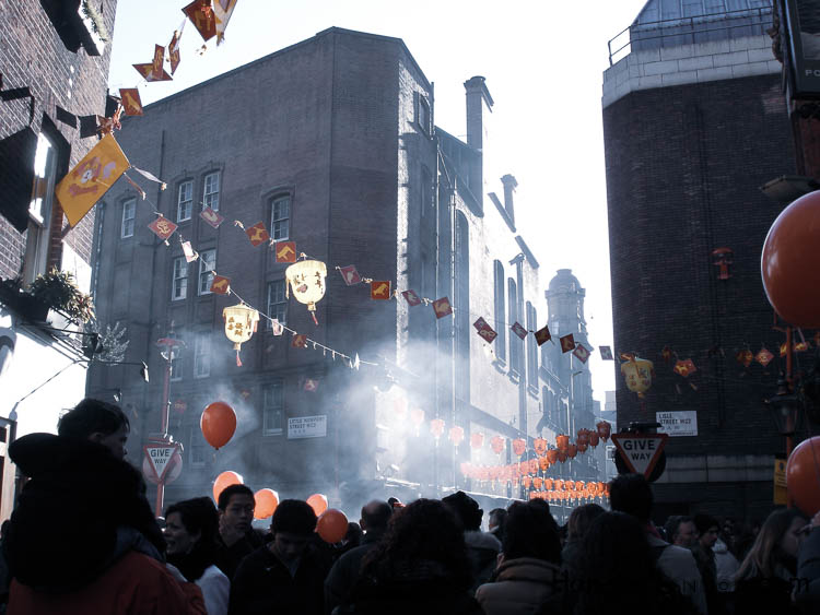 Chinese New Year, Fire Crackers, Smoke