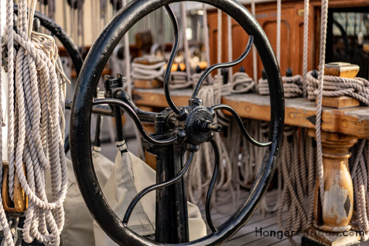 Cutty-sark - wheel house