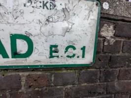 EC1 Old Street mini tour of the Street Art in Clerkenwell