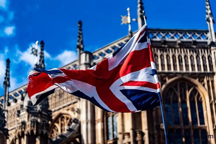 The Union Flag of the United Kingdom